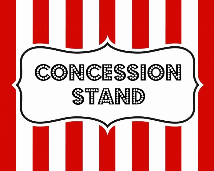 Concession Stand Sign Up Sheet Luxury Concession Stand Sign Template Free Download Freemium