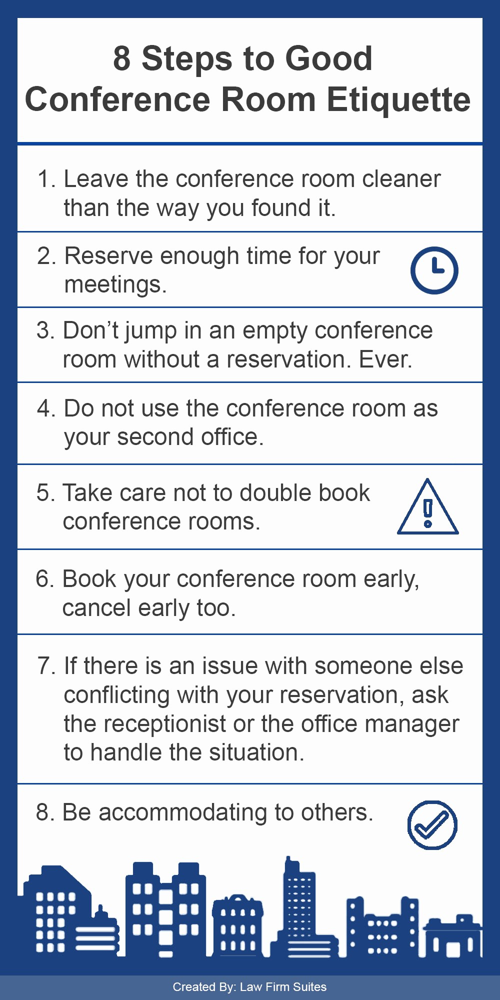 Conference Room Sign Up Template New 8 Steps to Good Conference Room Etiquette
