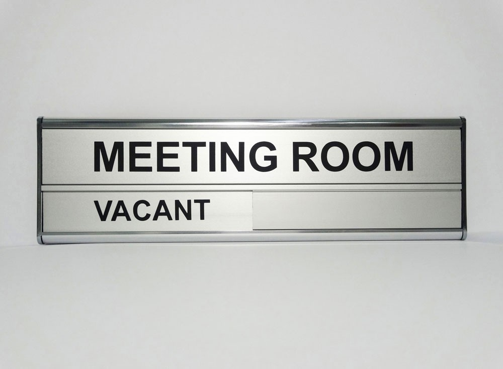Conference Room Sign Up Template New Meeting Nameplates Acrylic Wall Mount Nameplate Banners