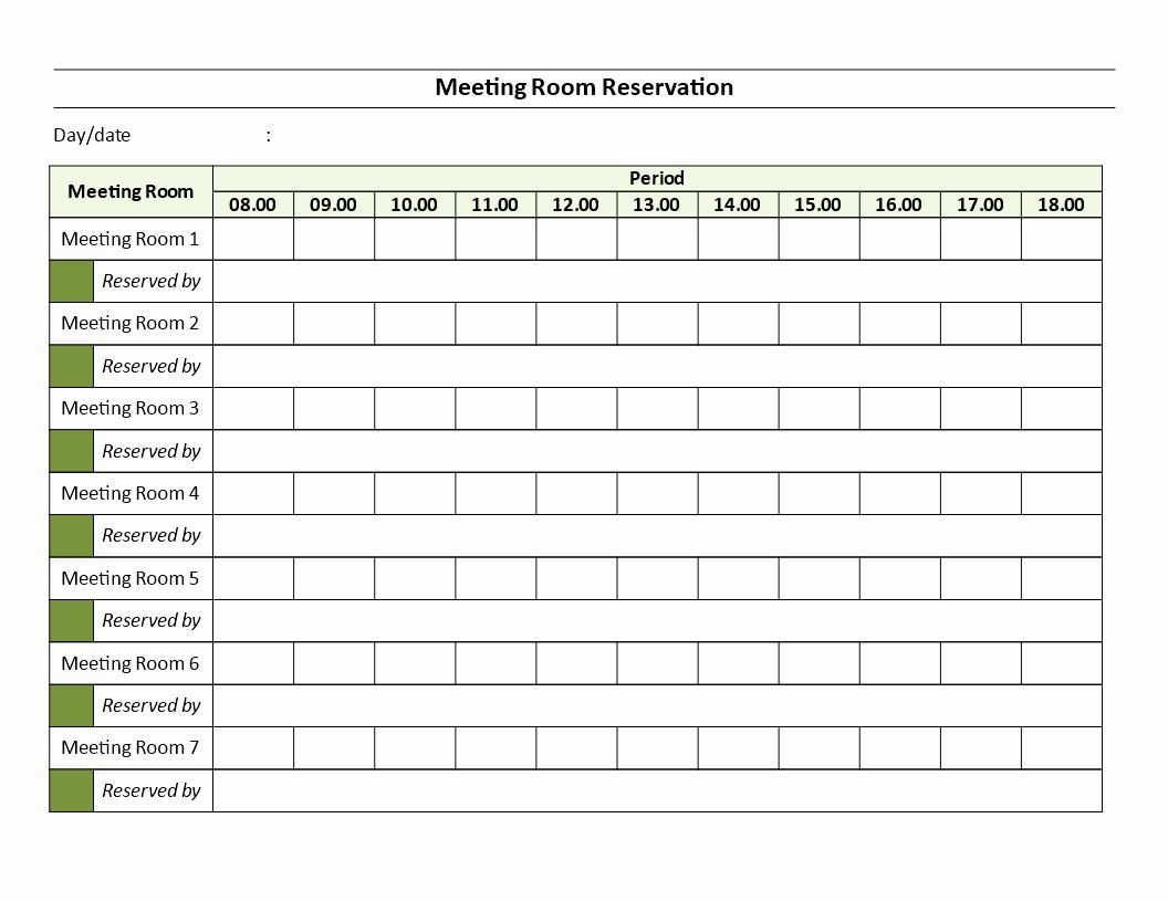 Conference Room Sign Up Template Unique Conference Room Sign Up Sheet Idealstalist