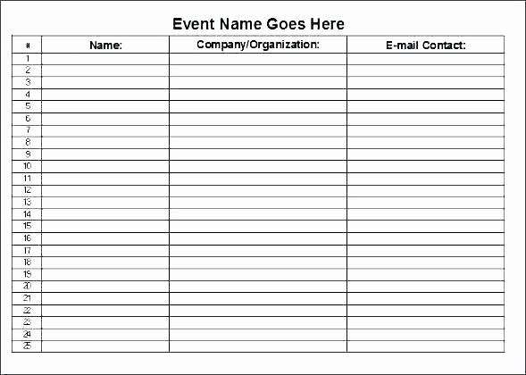Conference Sign In Sheet Template Lovely Conference Sign In Sheet Template – Puebladigital