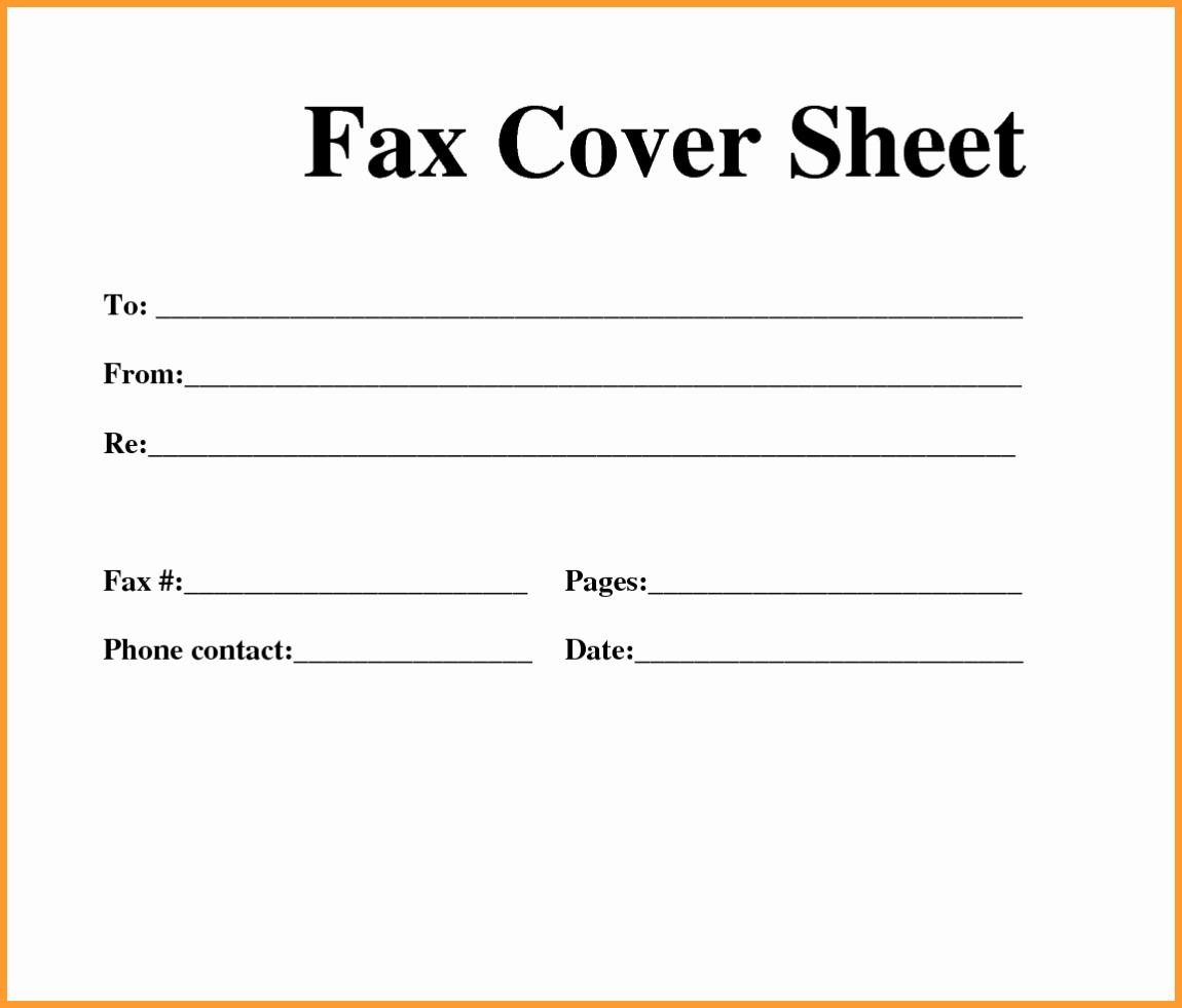 Confidential Fax Cover Sheet Pdf Fresh Free Fax Template