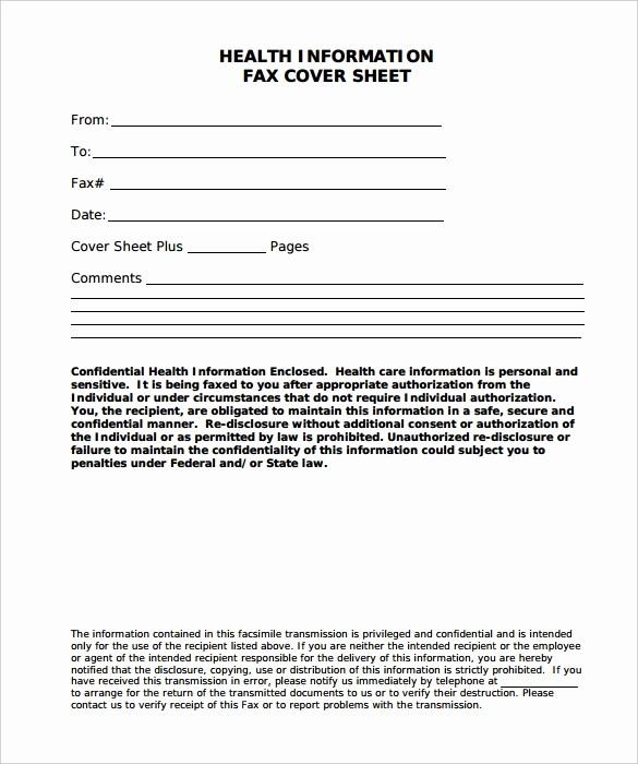 Confidential Fax Cover Sheet Pdf Unique 8 Confidential Fax Cover Sheet Word Pdf