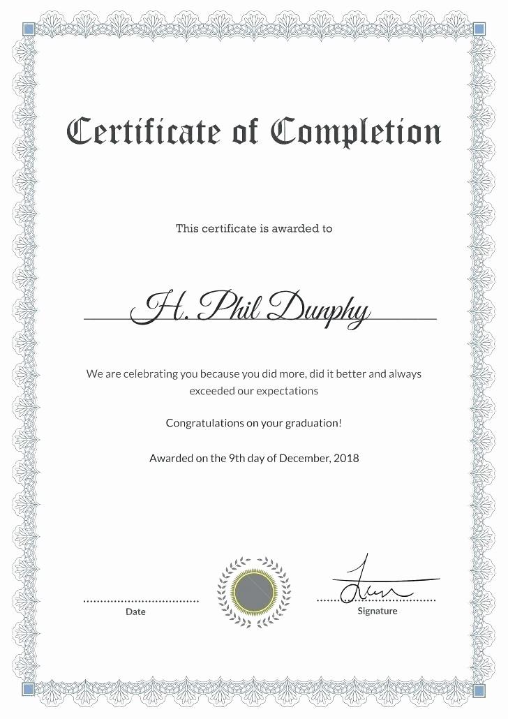 Congratulations Certificate Template Microsoft Word Awesome form Best Congratulations Certificate Template Medical