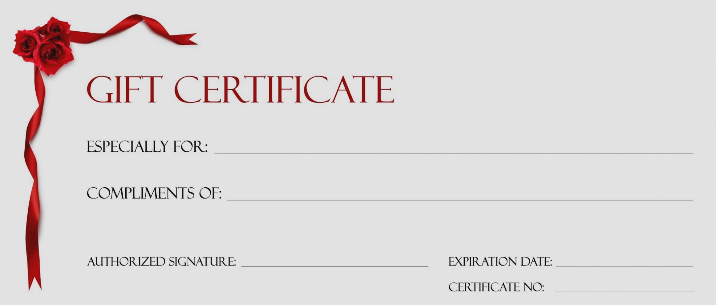 Congratulations Certificate Template Microsoft Word Beautiful Gift Certificate Template In Word 2018 Certificate