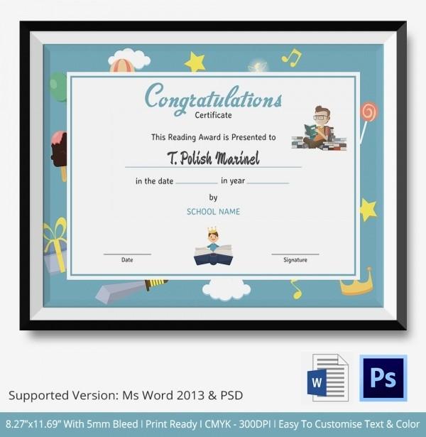 Congratulations Certificate Template Microsoft Word Fresh Congratulations Certificate Template 10 Word Psd