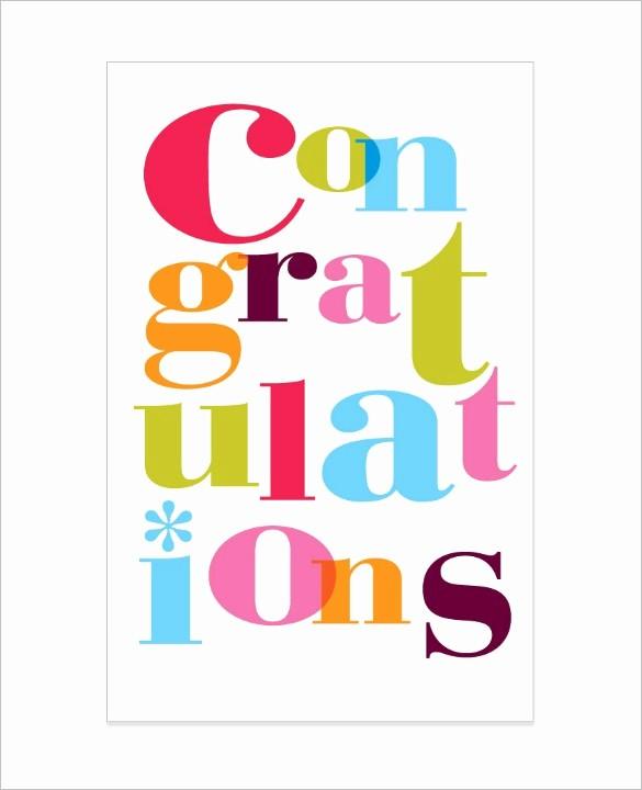 Congratulations Certificate Template Microsoft Word Unique Congrats Templates