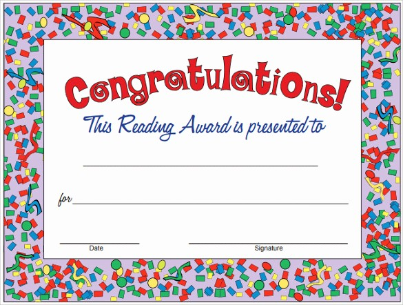 Congratulations You Did It Certificate Awesome 14 Congratulations Certificate Templates Free Sample