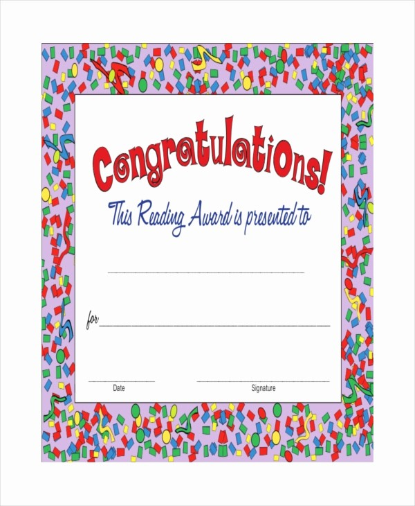 Congratulations You Did It Certificate Beautiful 14 Congratulations Certificate Templates Free Sample