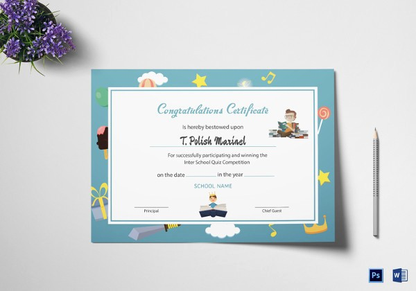 Congratulations You Did It Certificate Best Of Reading Certificate Template 6 Free Word Excel Pdf