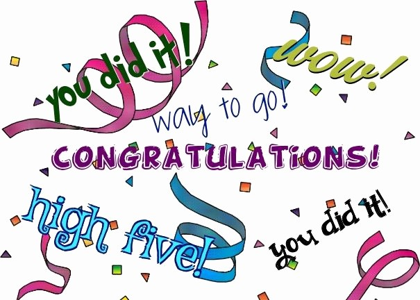 Congratulations You Did It Certificate Elegant Sample Congratulatory Ads Marriage Congratulation Letter