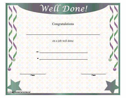 Congratulations You Did It Certificate Fresh 16 Best Images About Awards On Pinterest