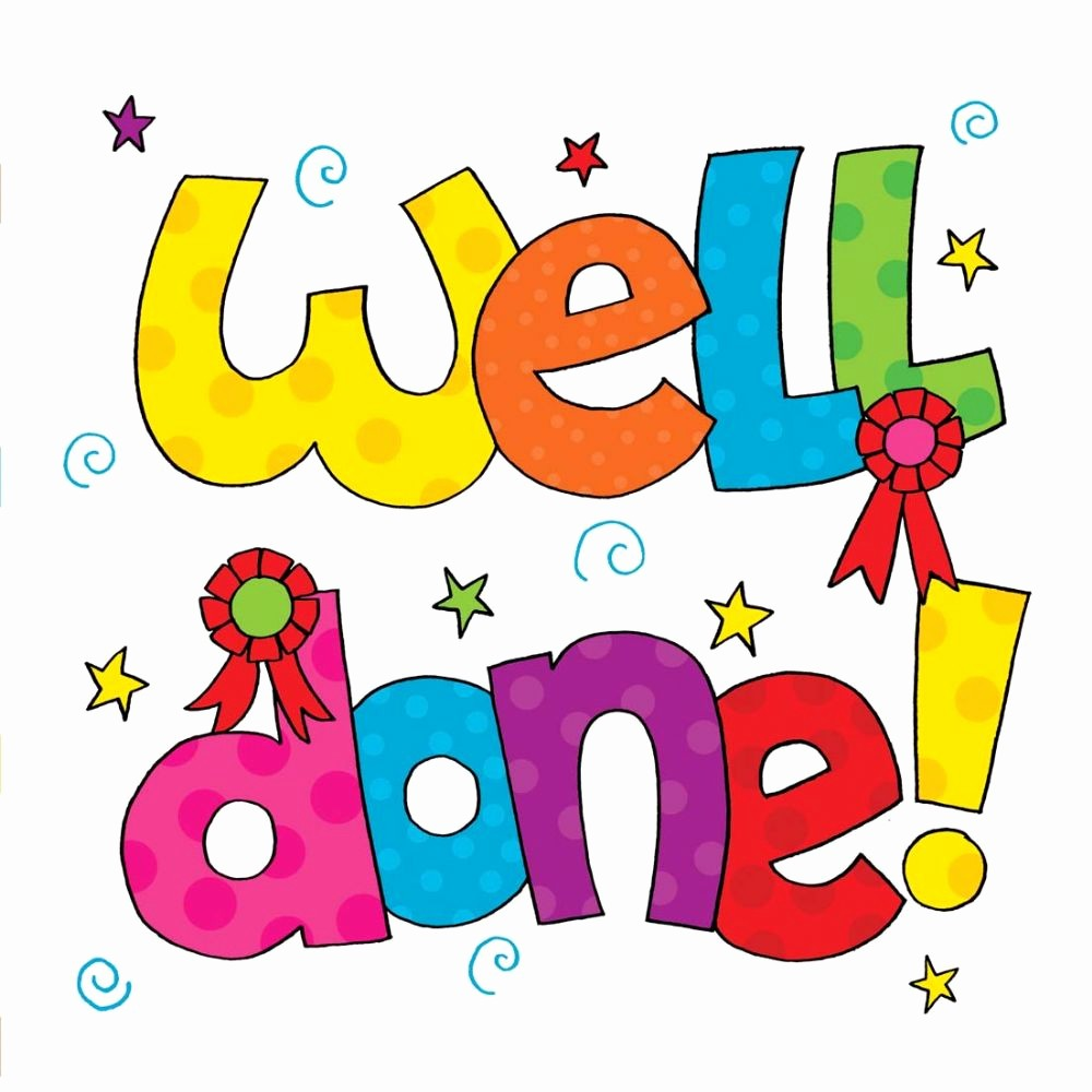 Congratulations You Did It Certificate Fresh Well Done Congratulations Card