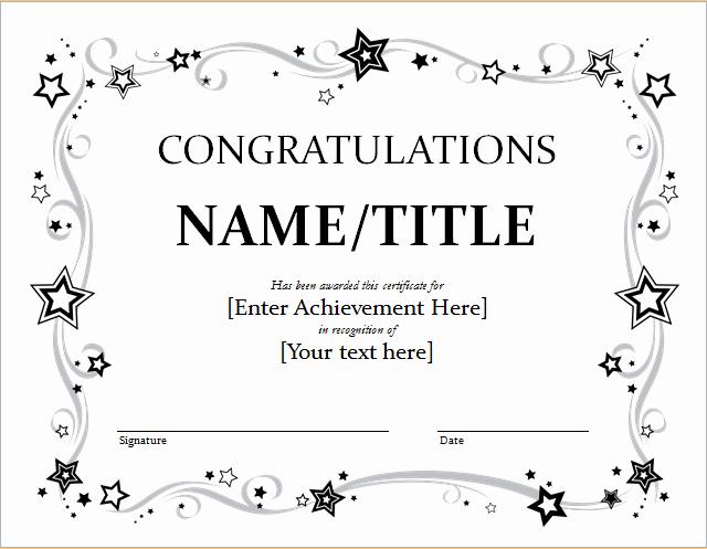 Congratulations You Did It Certificate Inspirational Certificate Congratulations Okl Mindsprout