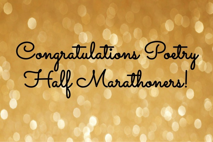 Congratulations You Did It Certificate Inspirational Congratulations Half Marathoners – the Poetry Marathon
