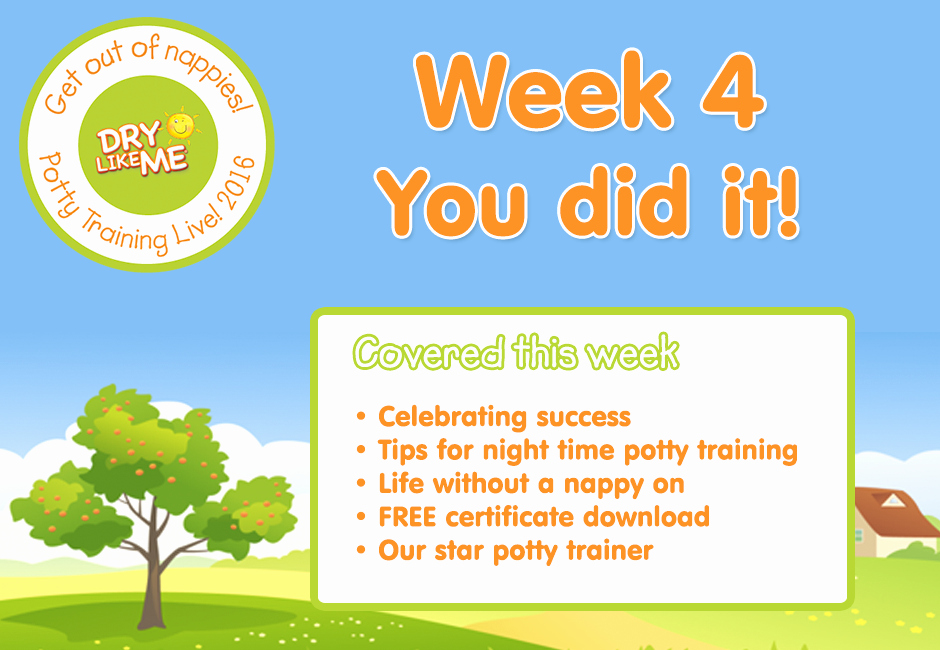 Congratulations You Did It Certificate Inspirational Week 4 – You Did It