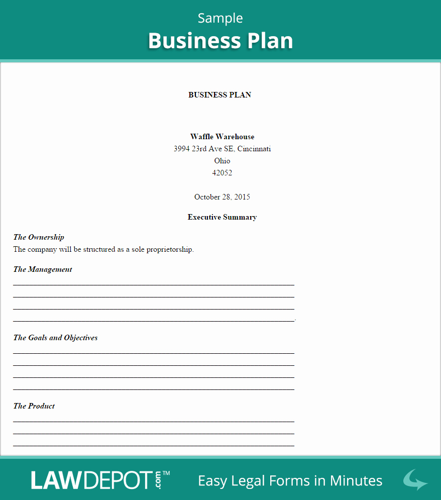 Construction Business Plan Template Word Awesome Business Plan Template