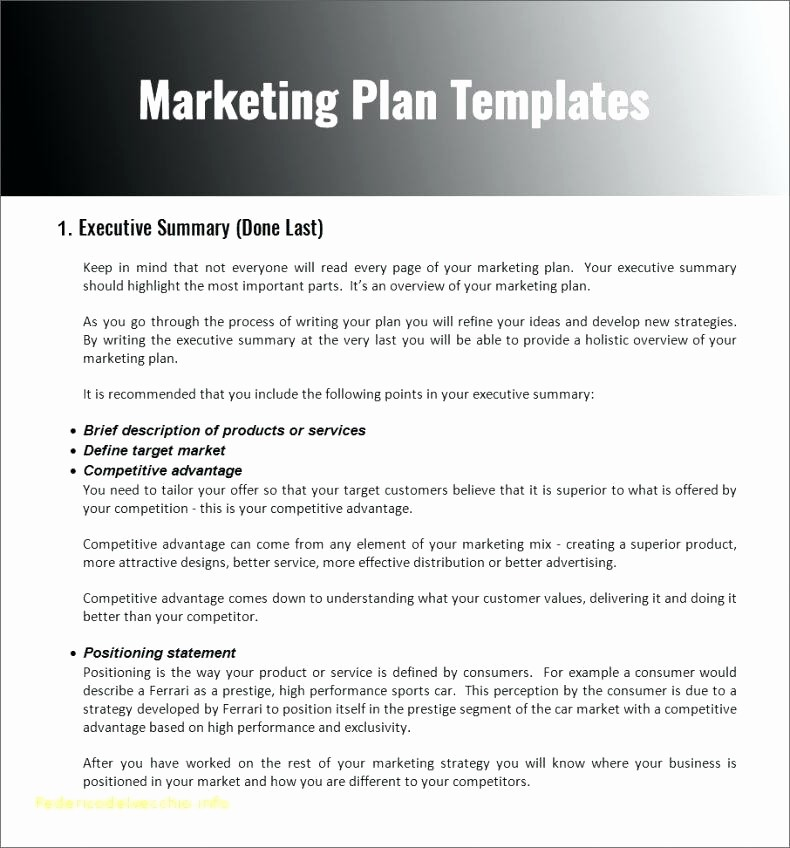 Construction Business Plan Template Word Inspirational Marketing toolbox Template Petitive Advantage Slide