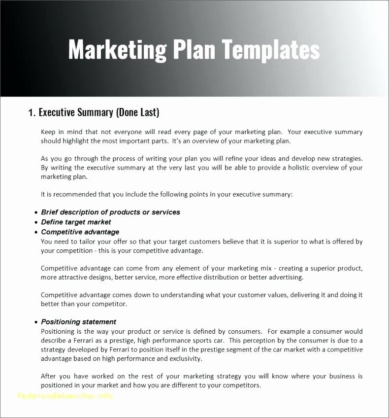 Construction Business Plan Template Word Inspirational Marketing toolbox Template Petitive Advantage Slide