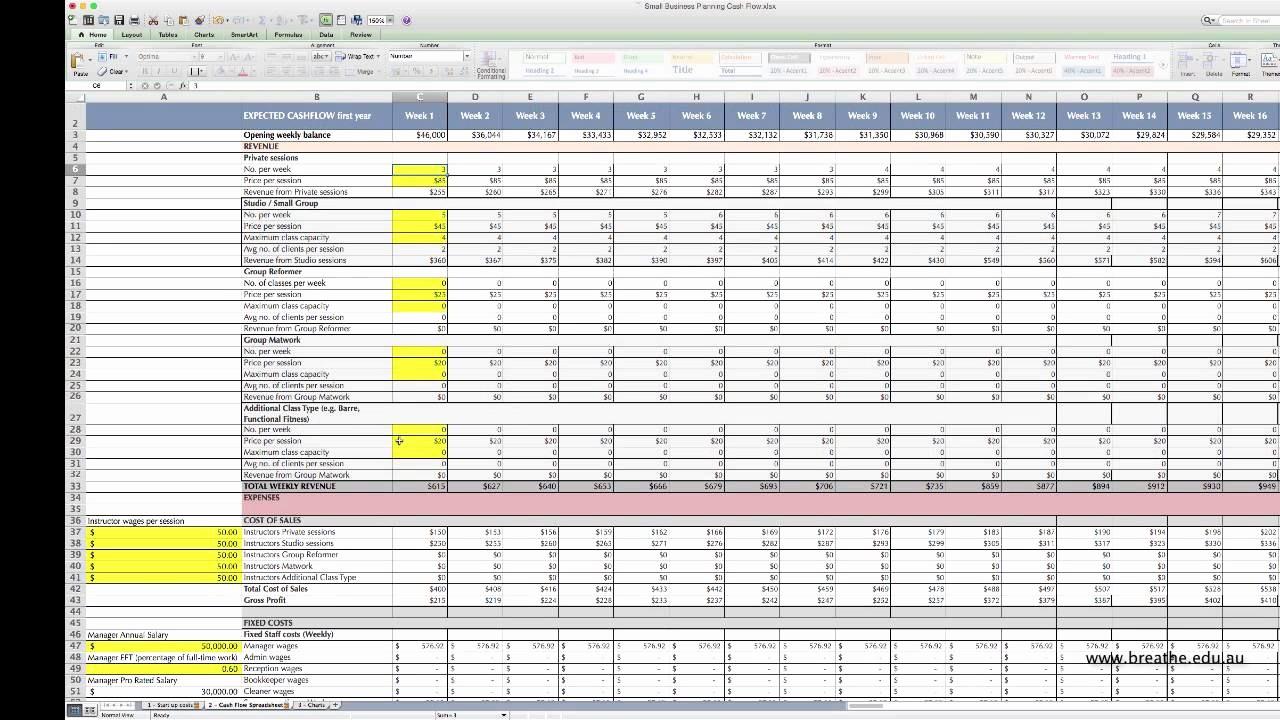 Construction Cash Flow Projection Template Fresh Cash Flow forecast Template Excel Free Rental Property
