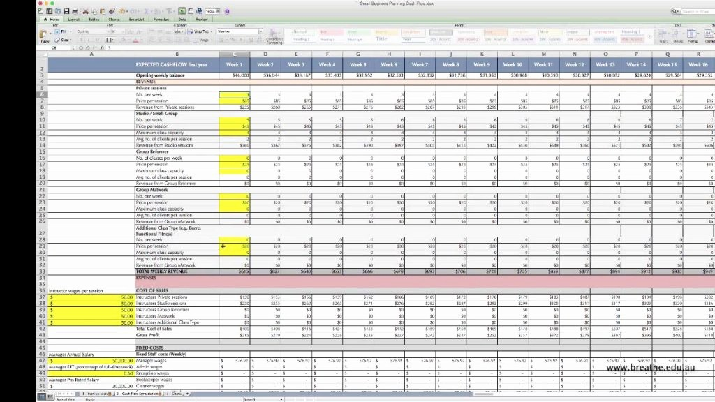 Construction Cash Flow Projection Template Inspirational Cash Flow forecast Template Excel Free Rental Property