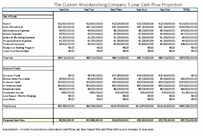 Construction Cash Flow Projection Template Luxury 6 Construction Cash Flow Projection Template Ttytt