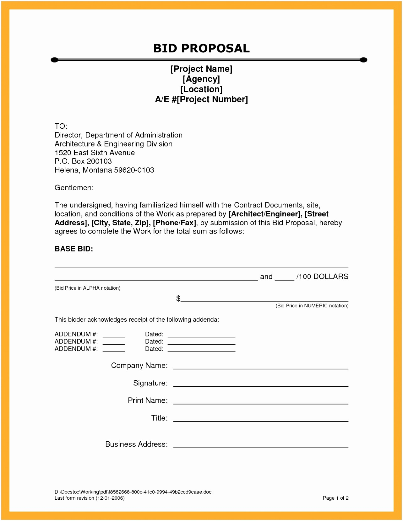 Construction Contract Template Microsoft Word Lovely 10 Contractor Proposal Template Word Oirau
