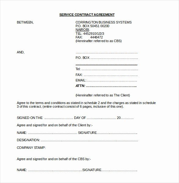 Construction Contract Template Microsoft Word Unique 22 Contract Agreement Templates – Word Pdf Pages