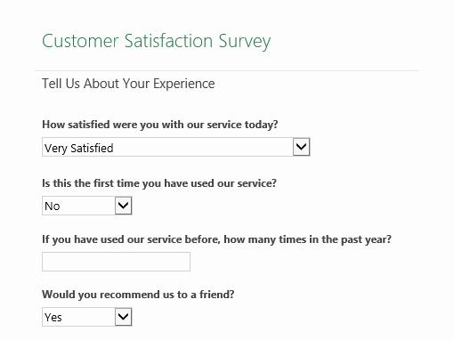 Construction Customer Satisfaction Survey Template Awesome Customer Satisfaction Survey