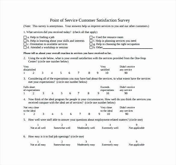 Construction Customer Satisfaction Survey Template Inspirational Sample Customer Satisfaction Survey Cover Letter Documents