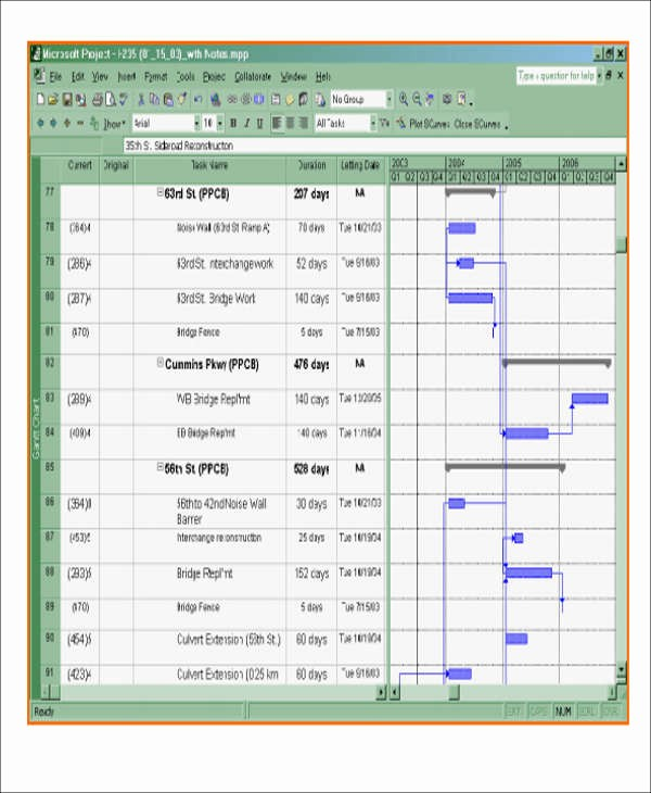 Construction Project Schedule Template Excel Luxury 7 Excel Construction Schedule Templates