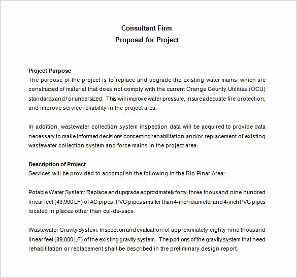 Consulting Report Template Microsoft Word Beautiful Consulting Proposal Template 18 Free Word Pdf format