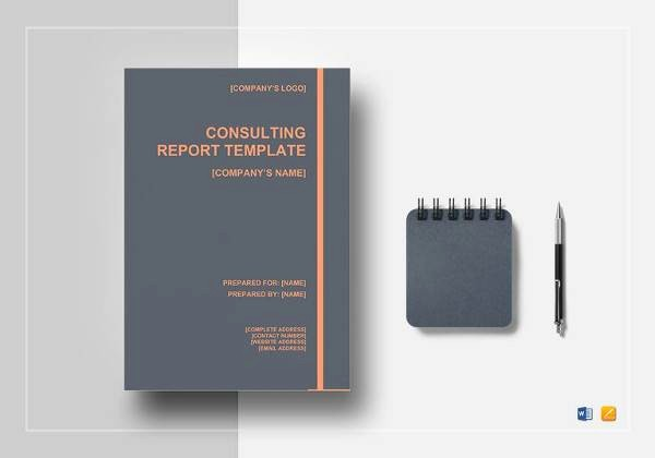 Consulting Report Template Microsoft Word Fresh 13 Sample Consulting Reports