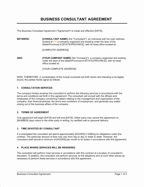 Consulting Report Template Microsoft Word Luxury Consulting Agreement Template Uk Templates Resume