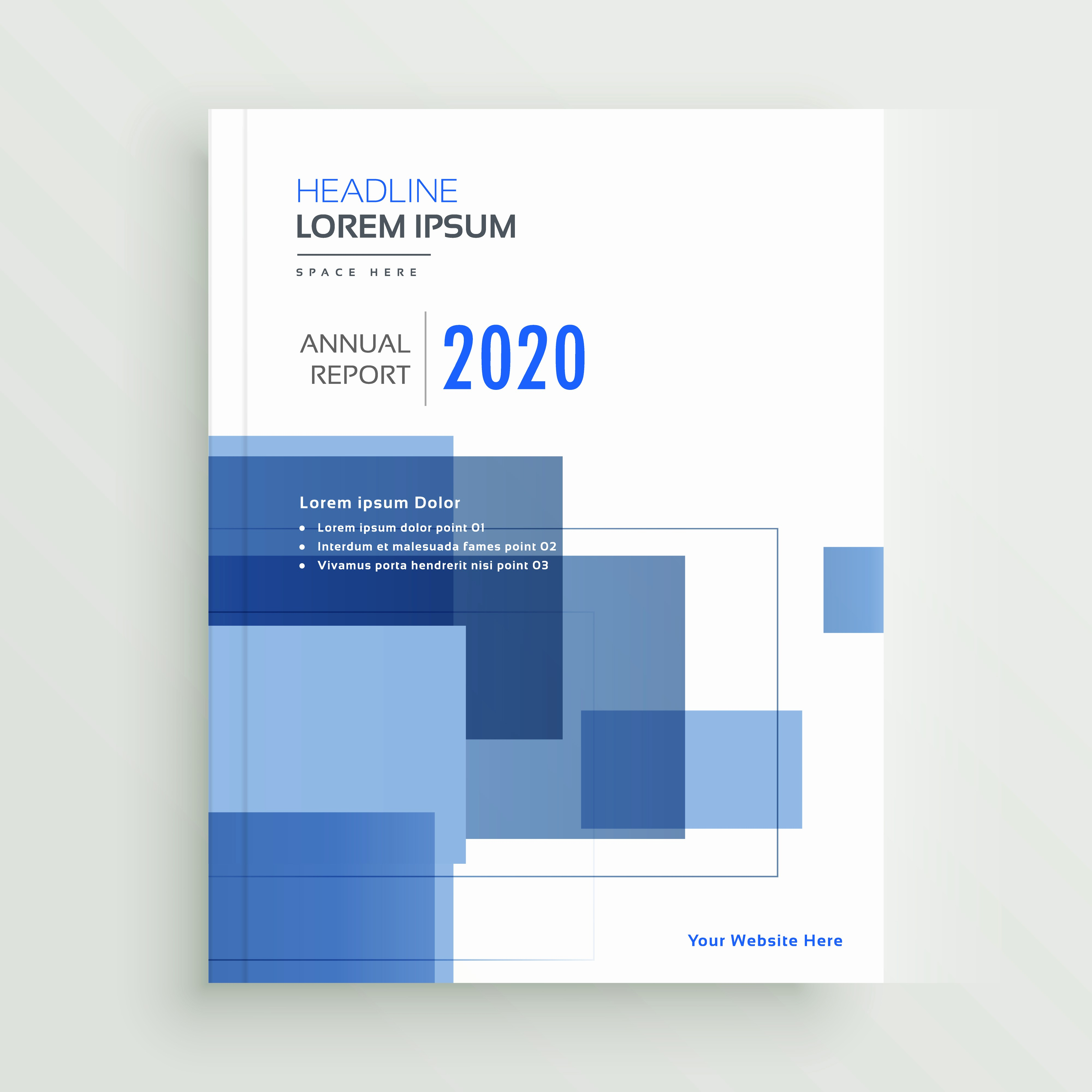 Consulting Report Template Microsoft Word Unique Business Annual Report Brochure Template Design with Blue