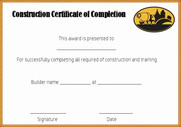 Continuing Education Certificate Template Free Awesome Certificate Of Pletion 22 Templates In Word format
