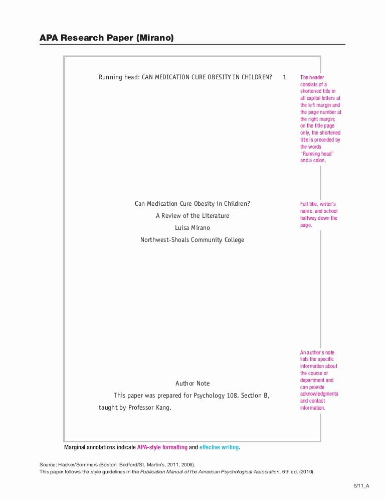 Convert Document to Apa format Lovely Apa Citation Paper