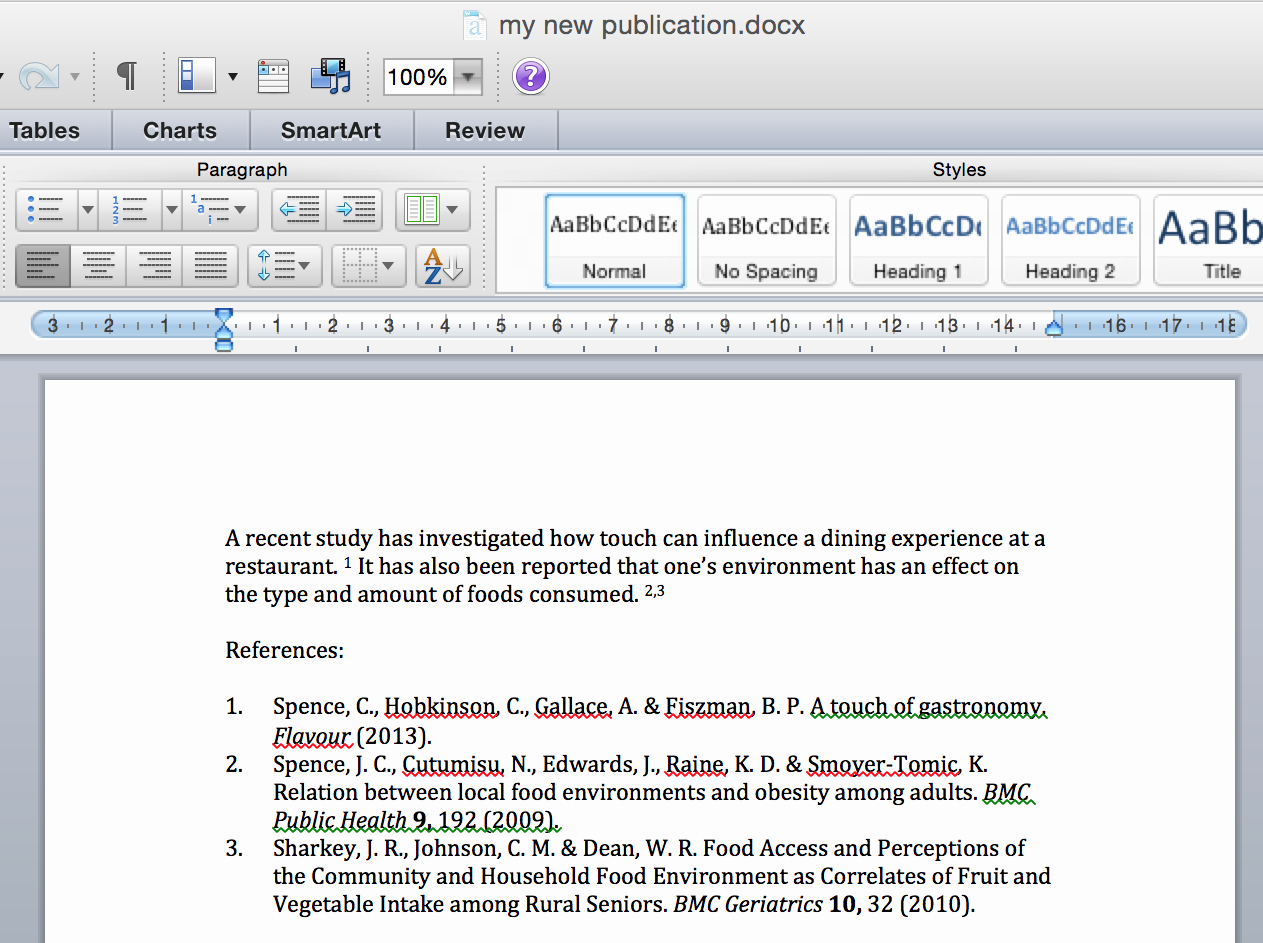 Convert Document to Apa format Unique Magic Citations On Papers 3 for Mac
