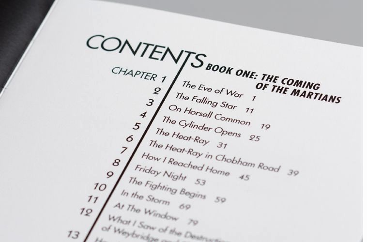 Cookbook Table Of Contents Template Fresh War Of the Worlds D ˚ Pinterest