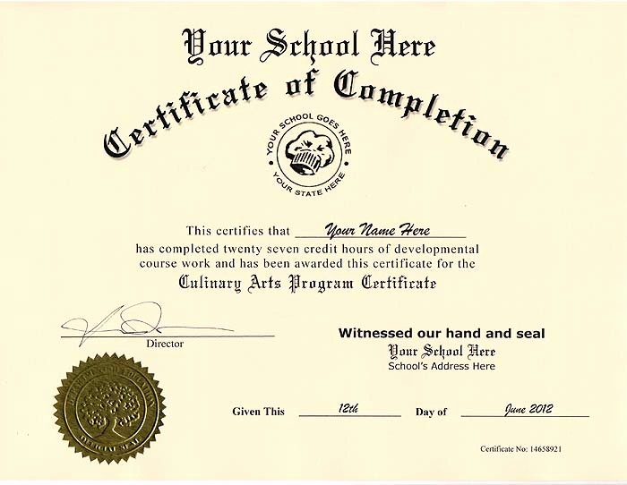 Cooking Class Gift Certificate Template Lovely 10 Best Of Culinary Certificate Templates Cooking
