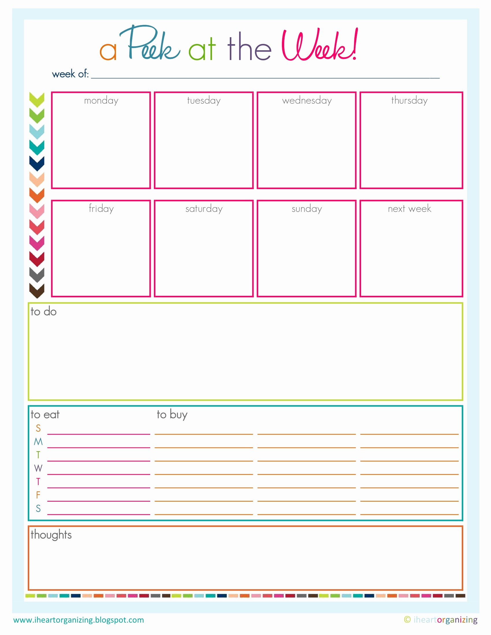 Cool to Do List Template Elegant 9 Best Of to Do Lists to Get organized Printable