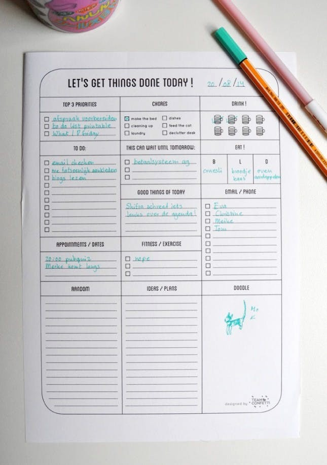 Cool to Do List Template Luxury No Excuses 20 Free Printable to Do Lists