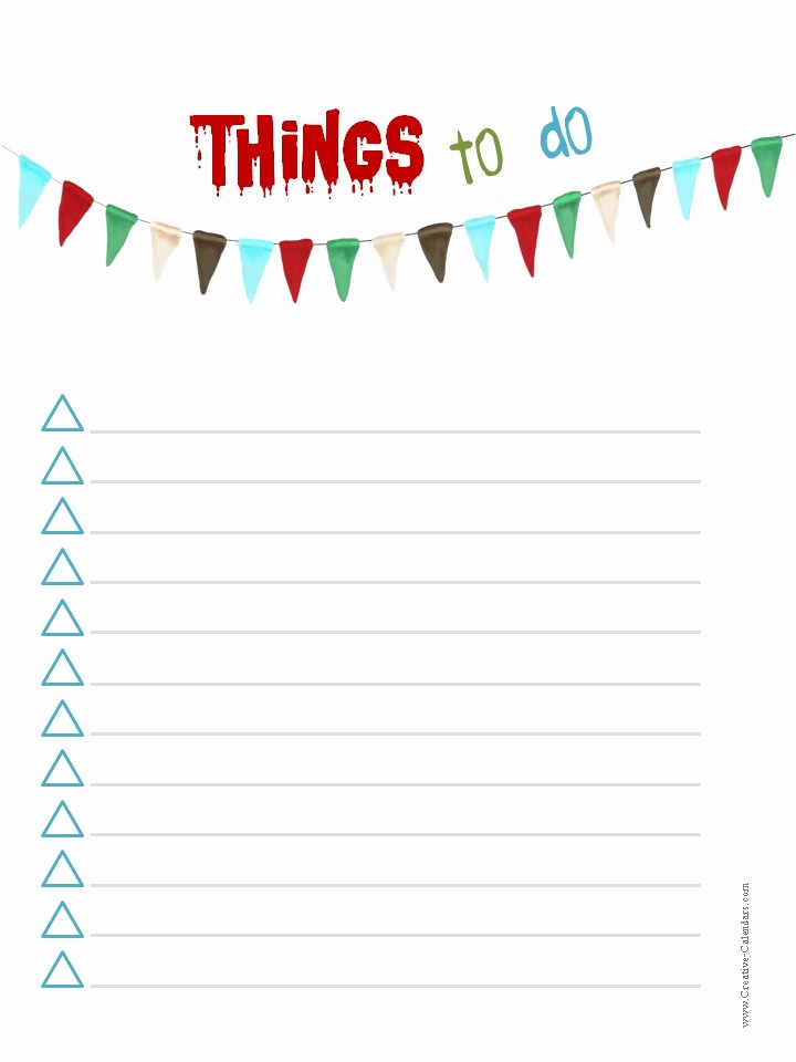 Cool to Do List Template New Cool to Do List Template Template Design Ideas