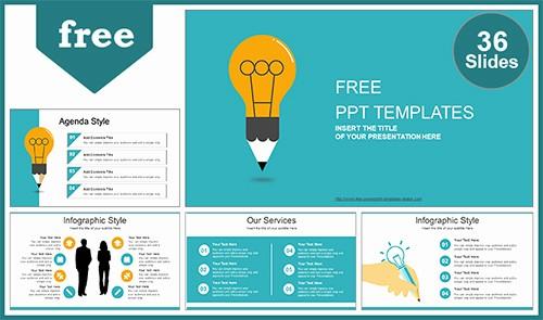 Cool to Do List Template New Creative Idea Bulb Powerpoint Template