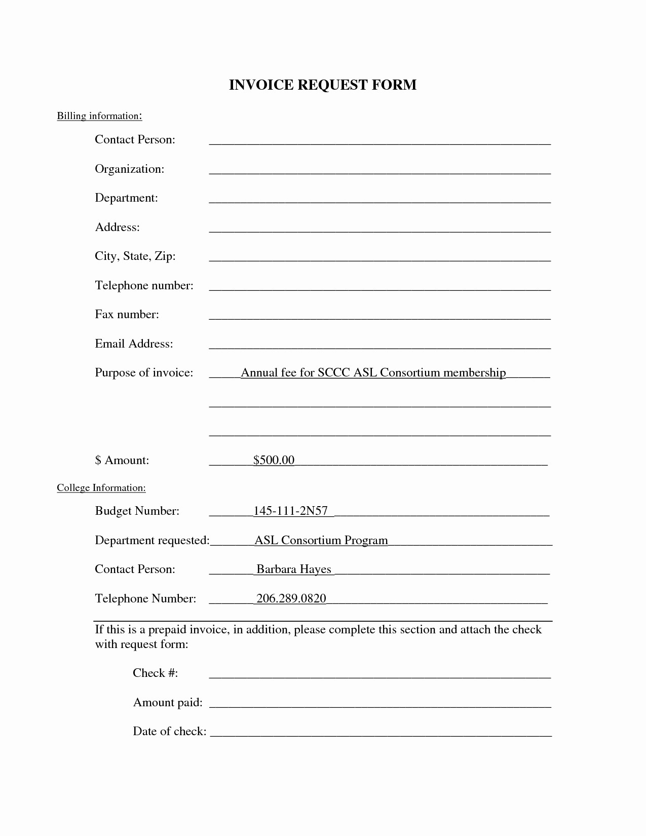 Copies Of Invoices for Free Beautiful Invoice Request form Template Invoice Template Ideas