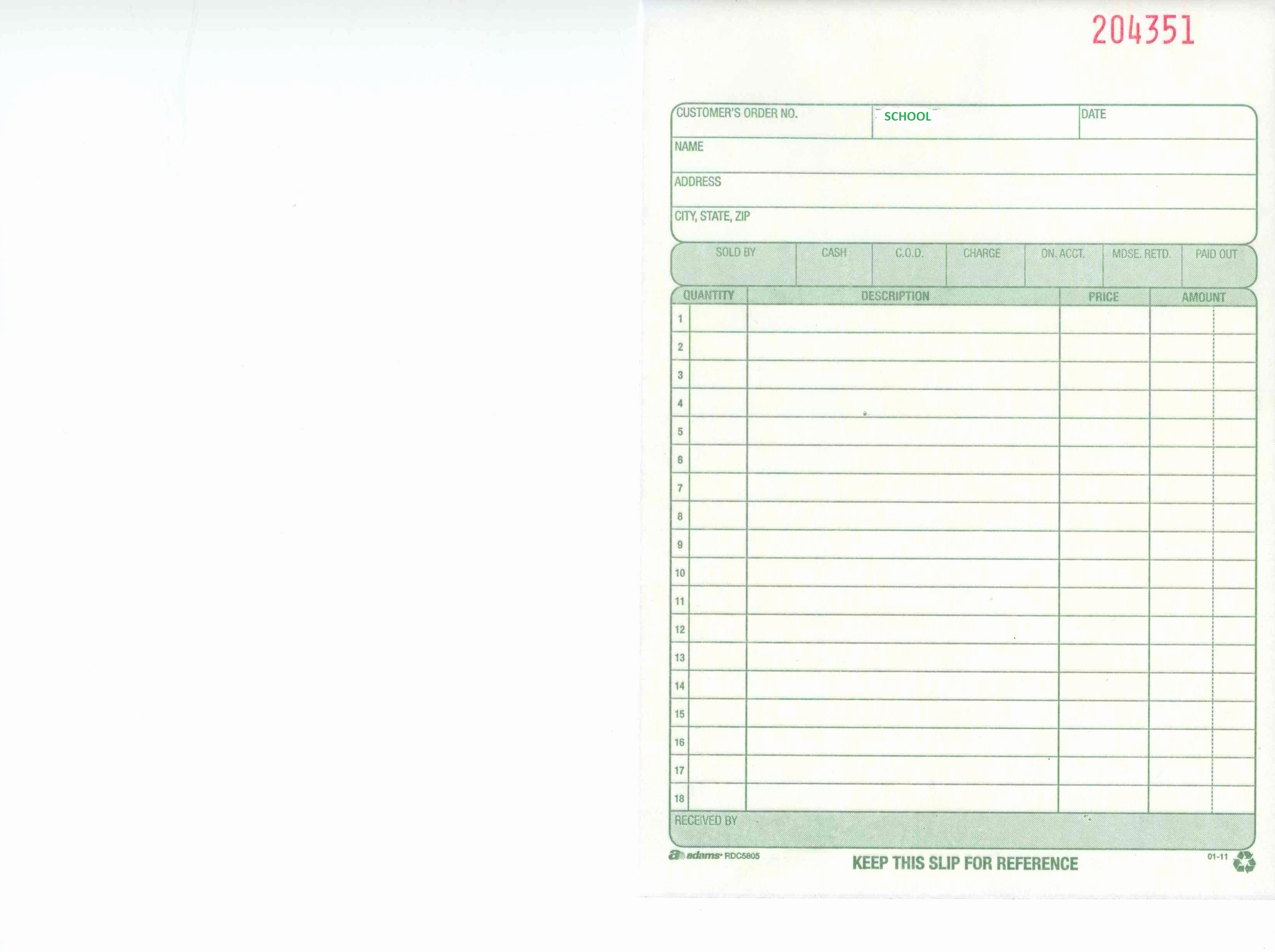 Copy Of A Blank Invoice Awesome Invoice Copy Sample