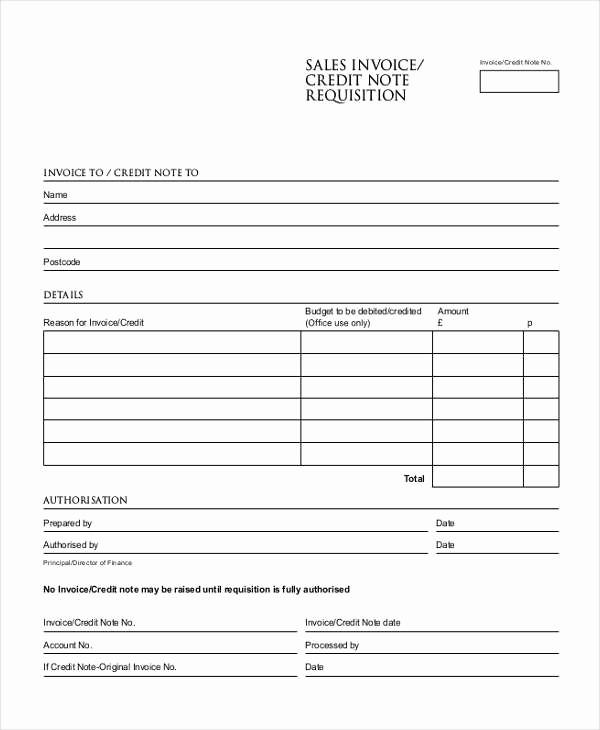 Copy Of A Blank Invoice Elegant Blank Sales Invoice