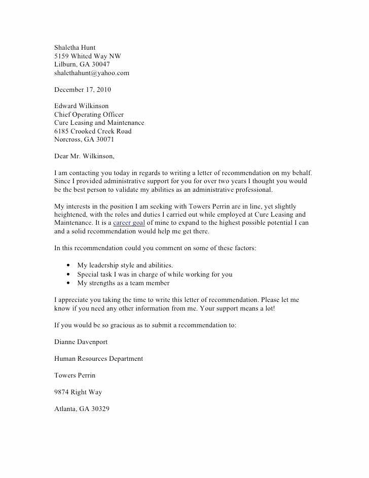 Copy Of A Reference Letter Inspirational Sample Reference Letter for Employee Useful Template