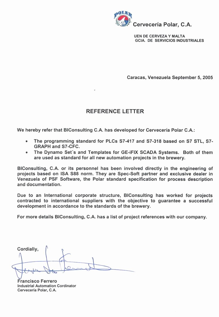 Copy Of A Reference Letter Lovely Business Letter Of Reference Template