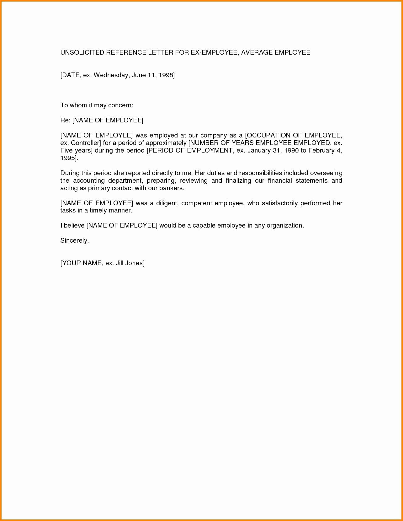 Copy Of A Reference Letter New Basic Re Mendation Letter format Copy S Save Basic